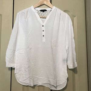 Kenneth Cole | white blouse